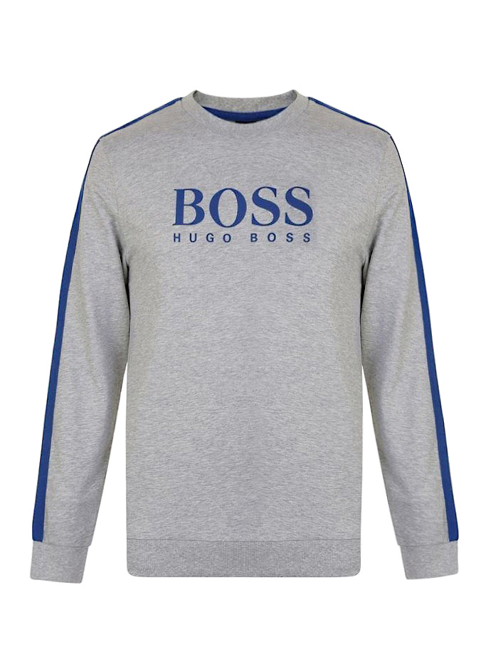 fb8d9156dcc EXCLUSIVE! for him: Mikina HUGO BOSS Authentic Sweatshirt 100% Cotton M, L,  XL (Grey/Blue) - PINK CHICK